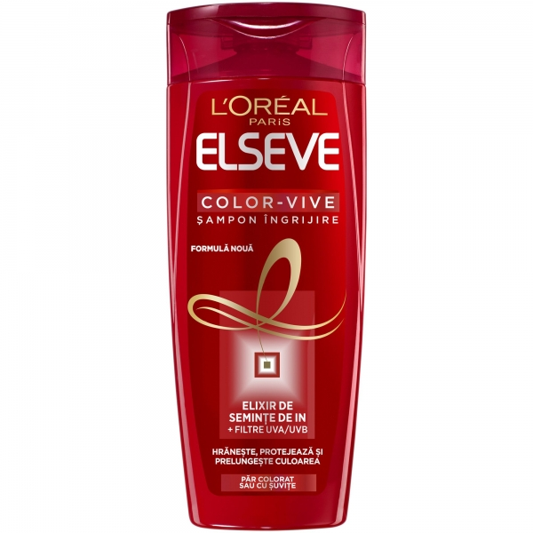 L Oreal Elseve Sampon, 400 ml, Color Vive pentru par colorat 0