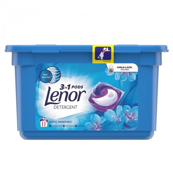 Lenor Detergent Capsule All in 1 PODS, 11 buc, Spring Awakening 0