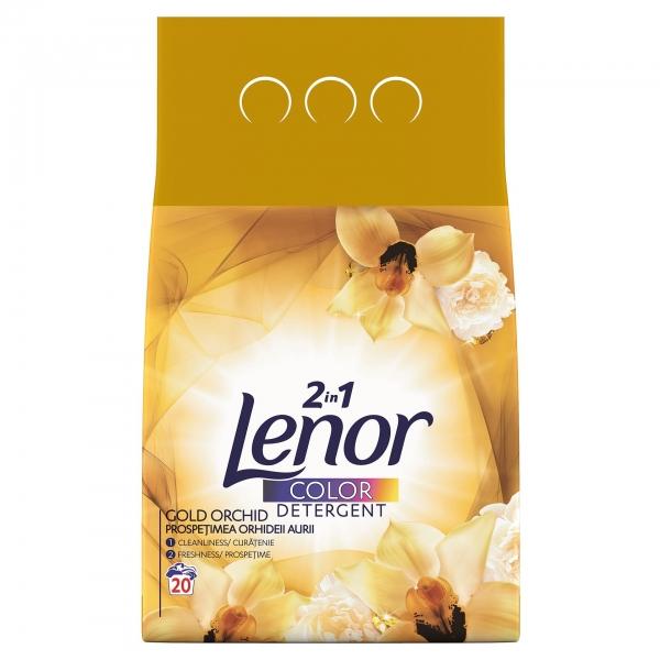 Lenor Detergent automat, 2 kg, 20 spalari, Color Gold Orchid 0