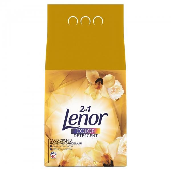 Lenor Detergent automat, 4 kg, 40 spalari, Color Gold Orchid 0