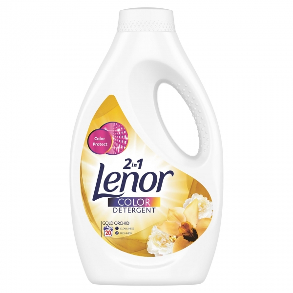 Lenor Detergent lichid, 1.1 L, 20 spalari, Color Gold Orchid 0