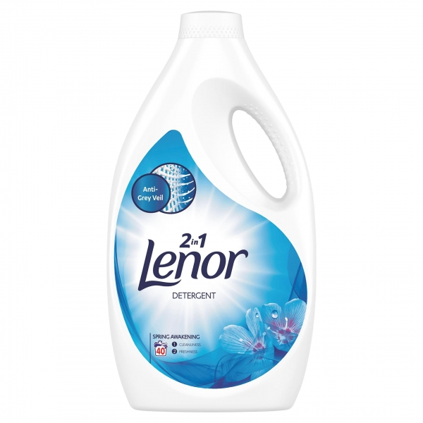 Lenor Detergent lichid, 2.2 L, 40 spalari, Spring Awakening 0