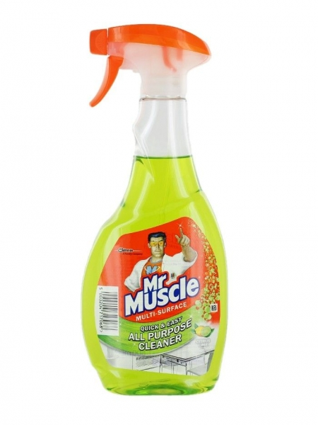 Mr. Muscle Solutie curatat multisuprafete, 500 ml, Citrus Lime 0