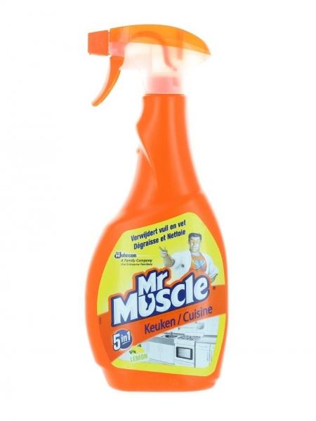 Mr. Muscle Solutie curatat suprafete bucatarie, cu pompa, 500 ml, 5in1 Kitchen Care 0
