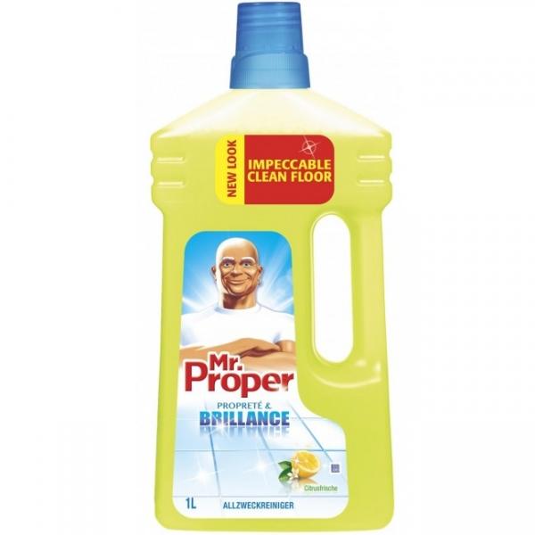 Mr. Proper Detergent pardoseli, 1 L, Lemon 0