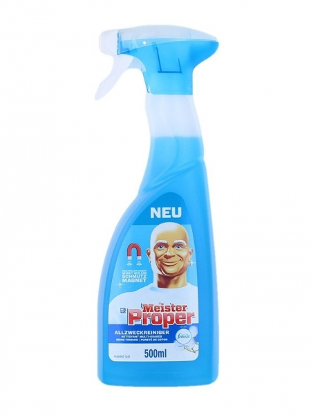 Mr. Proper Solutie curatat suprafete, cu pompa, 500 ml, Cotton Fresh 0