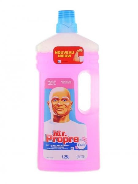 Mr. Proper Detergent pardoseli, 1.25 L, Fleur Naissante 0