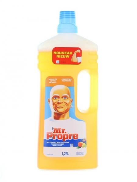 Mr. Proper Detergent pardoseli, 1.25 L, Fraicheur Tropicale 0