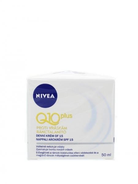 Nivea Crema de zi, Antirid, 50 ml, Q10 Plus FPS 15 0