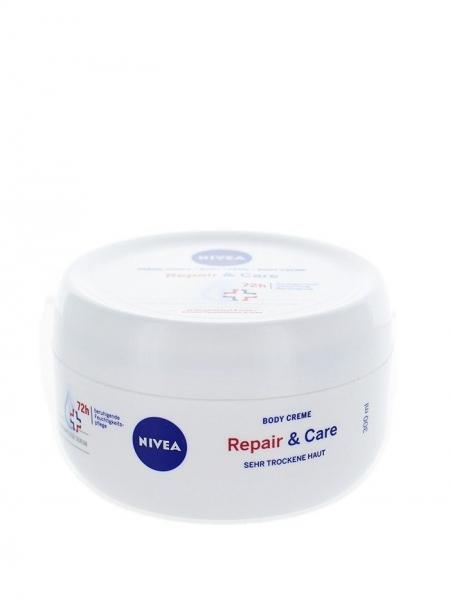 Nivea Crema de corp, 300 ml, Repair & Care 0