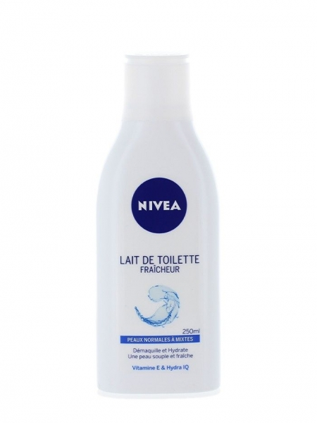 Nivea Lapte demachiant, 250 ml, Refreshing 0