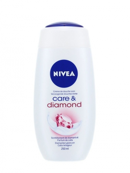Nivea Gel de dus, 250 ml, Care & Diamond 0