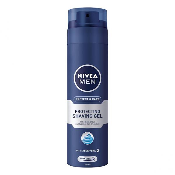 Nivea Gel de ras, 200 ml, Protect and Care 0