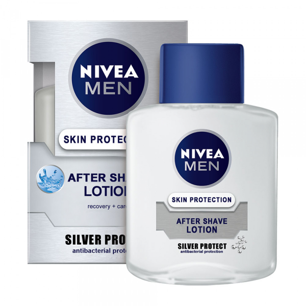 Nivea Lotiune after shave, 100 ml, Silver Protect 0