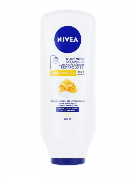 Nivea Lapte de corp sub dus, 250 ml, Honey Indulging 0