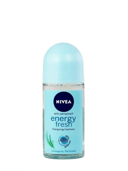 Nivea Deodorant Roll-on, Femei, 50 ml, Energy Fresh 0