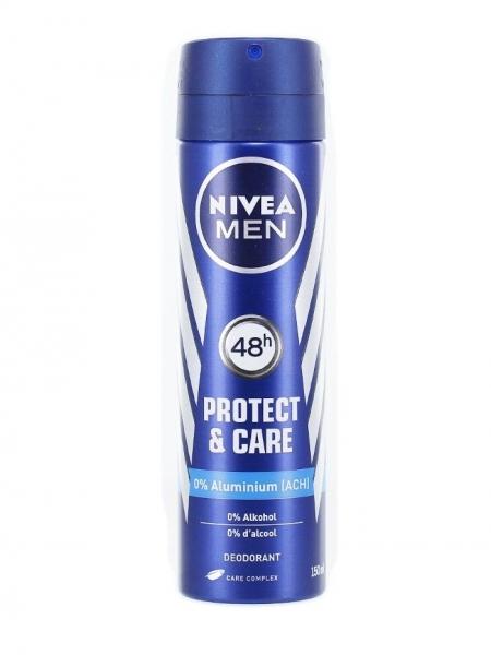 Nivea Deodorant spray, Barbati, 150 ml, Protect & Care 0