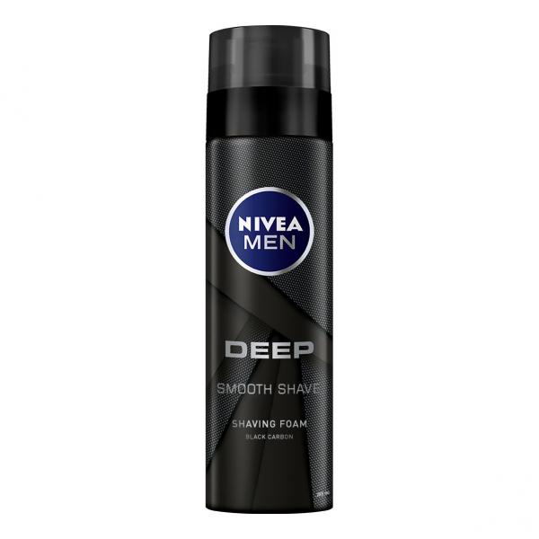 Nivea Spuma de ras, 200 ml, Deep 0