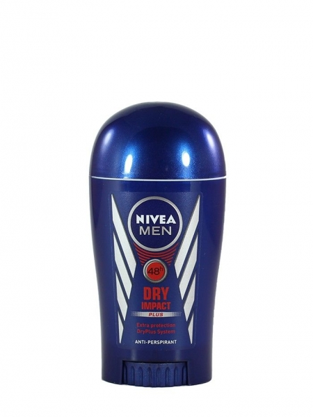 Nivea Deodorant stick, Barbati, 40 ml, Dry Impact 0