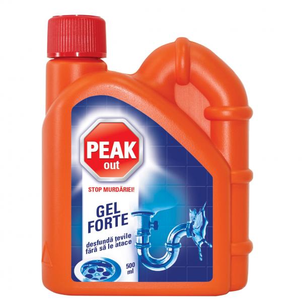 Peak Out Solutie desfundat tevi, 500 ml 0
