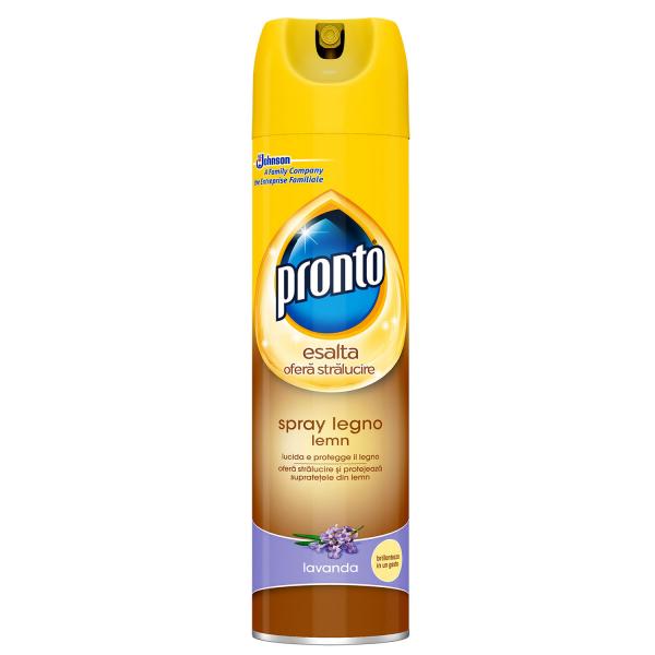 Pronto Spray pentru mobila, 300 ml, Lemn, Lavanda 0