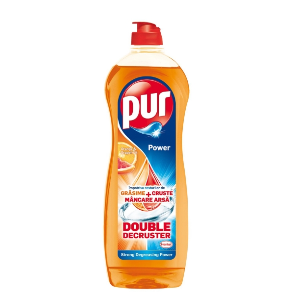 Pur Detergent pentru vase, 900 ml, Grapefruit & Orange 0