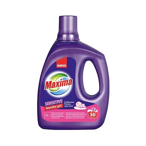 Sano Detergent lichid, 2 L, 30 spalari, Gel Sensitive 0