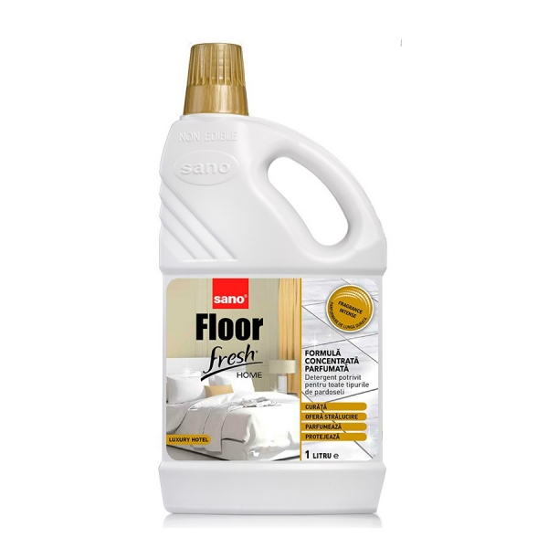 Sano Detergent pardoseli, 1 L, Floor Fresh Home Luxury Hotel 0
