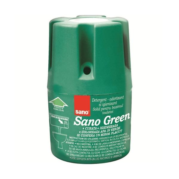Sano Odorizant bazin WC, 150 g, Green 0