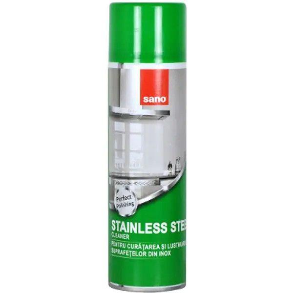 Sano Solutie pentru inox, Spray, 500 ml, Stainless Steel 0