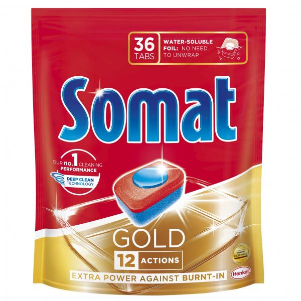 Somat Tablete pentru masina de spalat vase, 36 buc, Gold 0