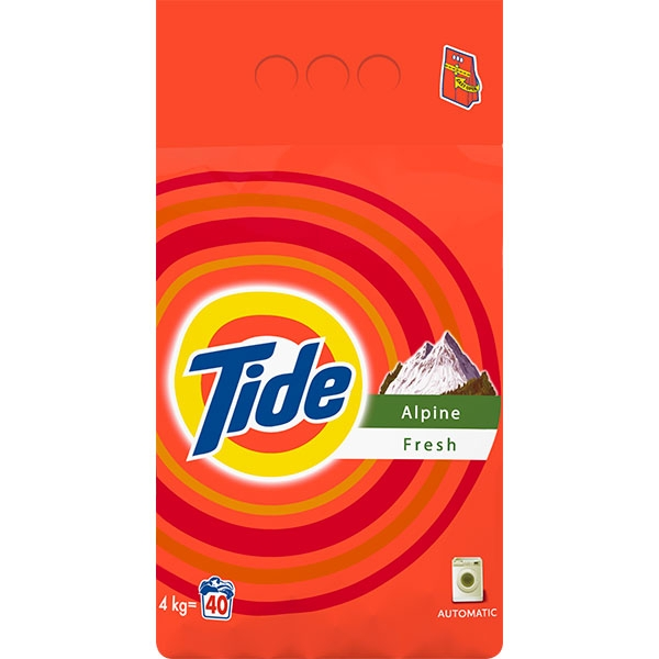 Tide Detergent automat, 4 kg, 40 spalari, Alpine Fresh 0