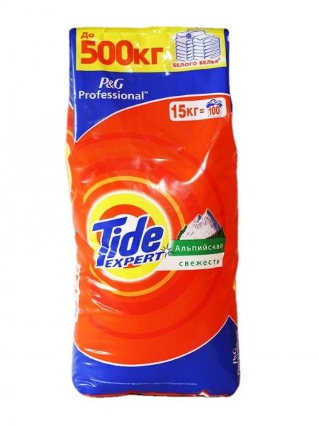 Tide Detergent automat, 15 kg, 100 spalari, Expert 0