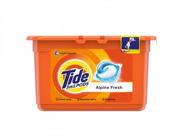 Tide Detergent capsule 3in1 PODS, 12 buc, Alpine Fresh 0