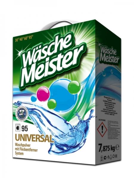 WascheMeister Detergent universal, 7.875 kg, 95 spalari, Universal 0