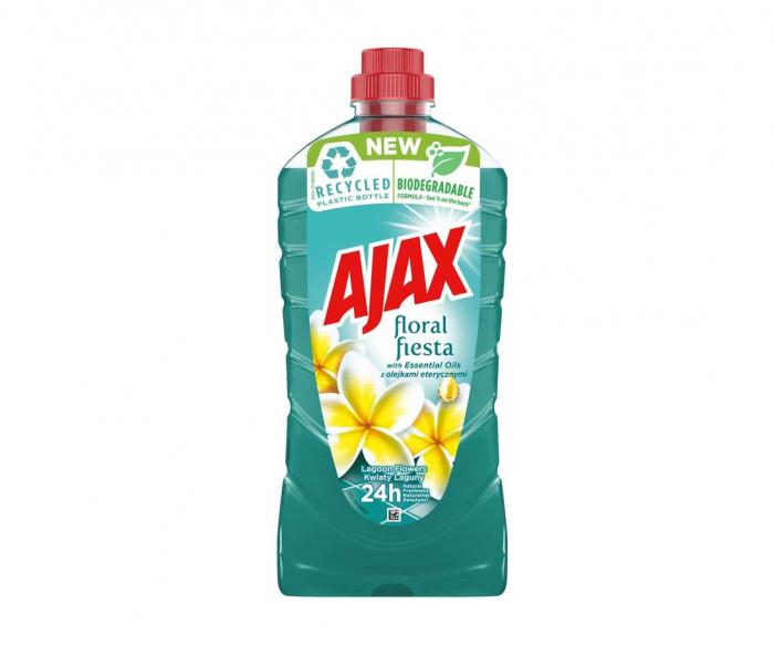 Ajax Detergent Pardoseli, 1L, Lagoon Flowers 0