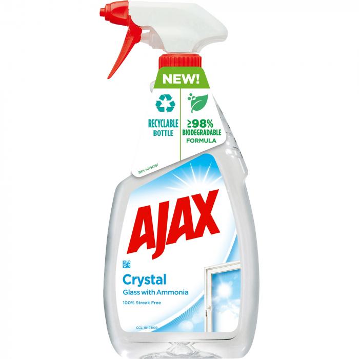 Ajax Solutie curatat geamuri, 500 ml, Super Effect 0