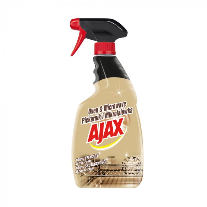 Ajax Solutie pentru cuptor si cuptorul cu microunde, cu pompa, 500 ml 0