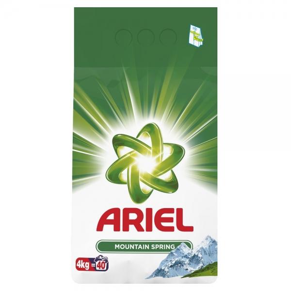 Ariel Detergent automat, 4 kg, 40 spalari, Mountain Spring 0