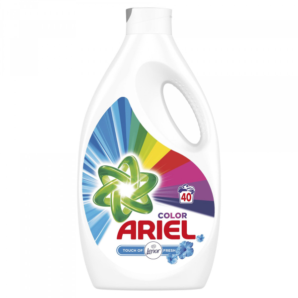 Ariel Detergent lichid, 2.2L, 40 spalari, Color Touch of Lenor Fresh 0