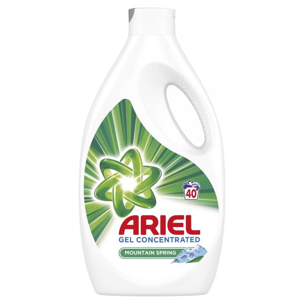 Ariel Detergent lichid, 2.2L, 40 spalari, Mountain Spring 0