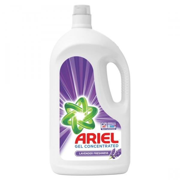 Ariel Detergent lichid, 3.3L, 60 spalari, Lavanda 0