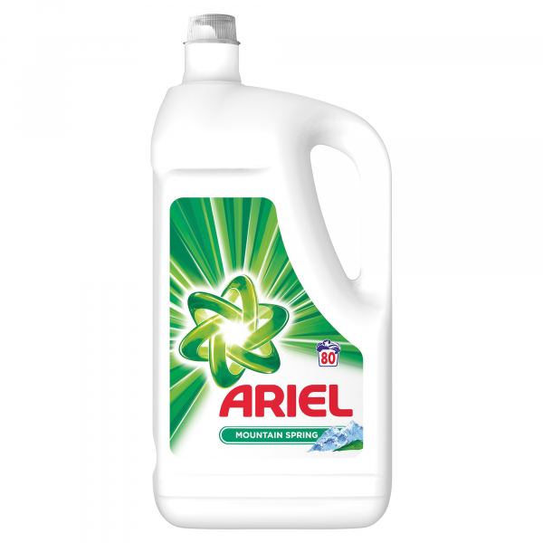 Ariel Detergent lichid, 4.4L, 80 spalari, Mountain Spring 0