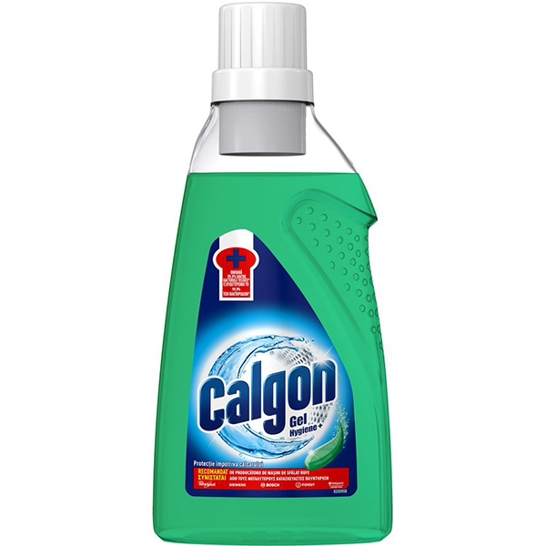 Calgon Gel anticalcar, 750 ml, Hygiene+ 0