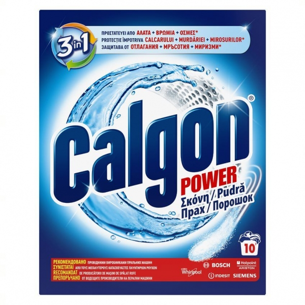 Calgon Pudra anticalcar, 500 g, 3in1 Protect and Clean 0
