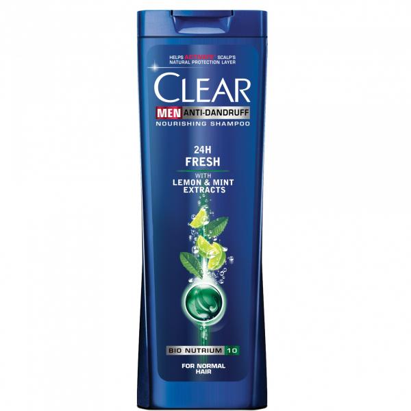 Clear Sampon, Barbati, 400 ml, 24h Fresh 0