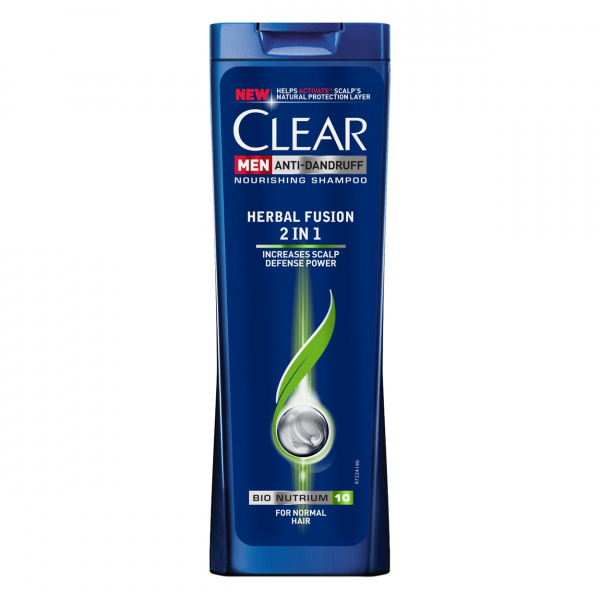 Clear Sampon, Barbati, 400 ml, Herbal Fusion 2 in 1 0