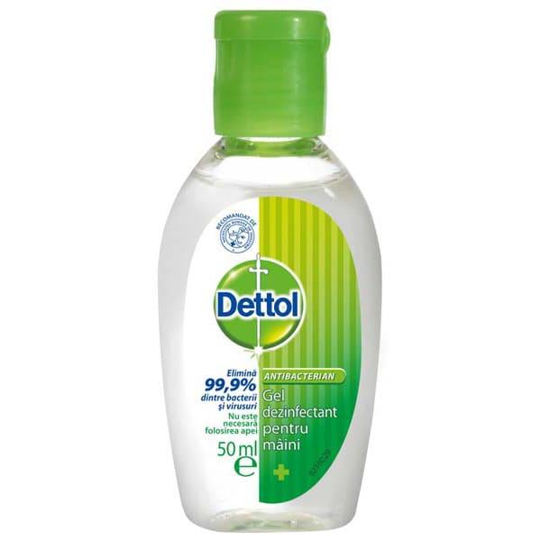 Dettol Dezinfectant pentru maini, gel, 50 ml 0