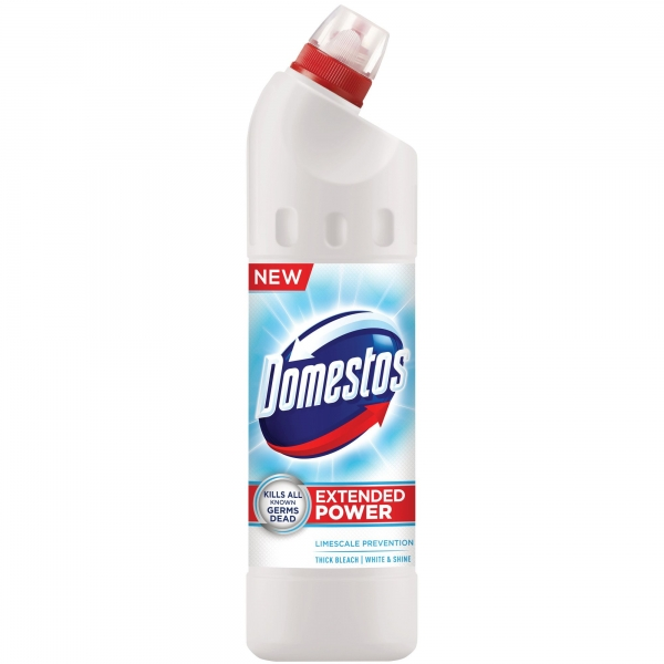 Domestos Dezinfectant WC, 750 ml, White and Shine 0