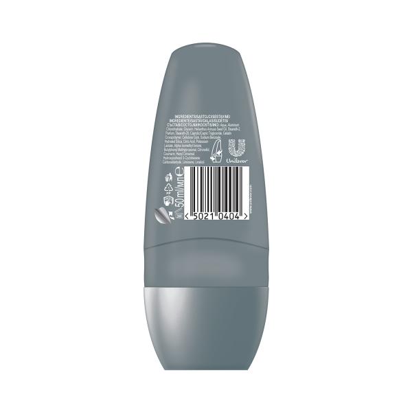 Dove Deodorant Roll-on, Barbati, 50 ml, Clean Comfort 1